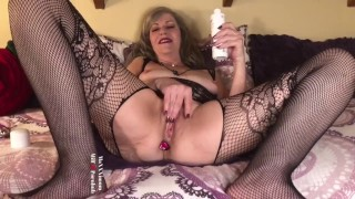 Sexy MILF GILF Catches Stepson Watching Her On Pornhub-Taboo Roleplay JOI (10 min vid OnlyFans)