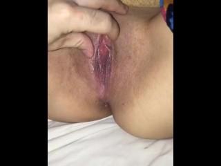 Licking chupando latina amateur...
