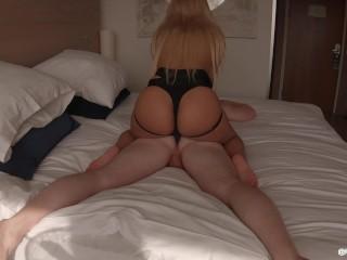 Hot Girl Fucks Guy With Strapon