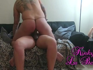Sub letting him ride my huge girl onlyfans...