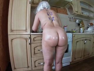 Milf pleases the guy with blowjob sex...