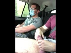 Cruising another UberPool passenger