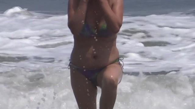 MATURE WIFE, COMPILATION OF EROTIC MOMENTS ON THE BEACH, FUCKING, SUCKING, SHOWING OFF, BATHING, MAS 14