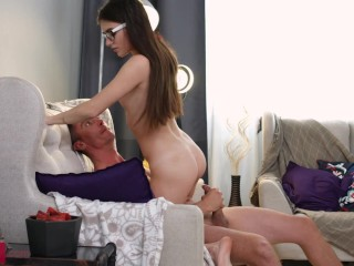 Stefany Kyler – Thin woman is nailed by man