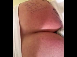 Misslexiloup enjoying hot dildo ride ass...