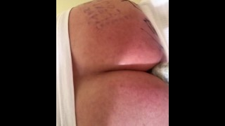 MissLexiLoup enjoying hot dildo ride Butthole Orgasm hot curvy ass