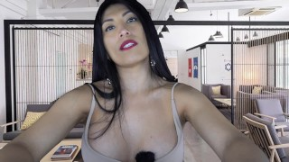 HOT Office Latina Gives You a Massage at Work