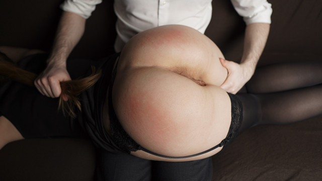 Boss Spanked Secretary's Yummy Ass For Bad Coffee — 4K Amateur