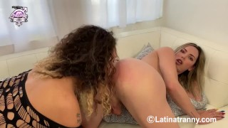 here I with mexican goddess Gia Itzel XXX fucking and cumming on her tits