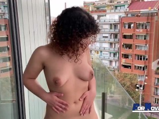 Friend lily morena loves it in public sex...