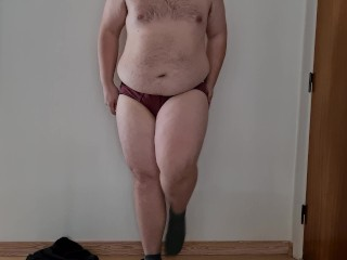 First wear transformation chastity belt...
