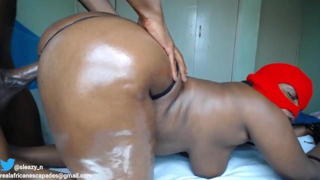 Huge BBC Destroys Ebony Slut. 20