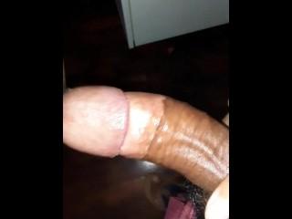 Hot oily cock...