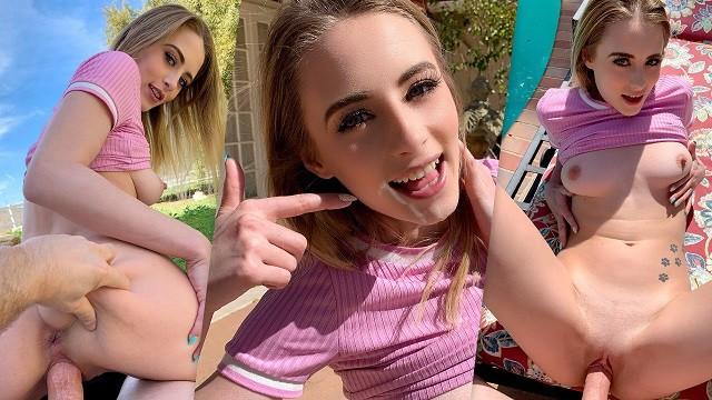 Cute Petite Teen Blowjob
