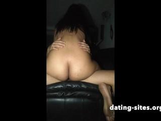Hot wife cheating riding neighbor cock milf...