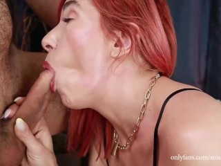 Stroke your cock while watching me getting fuck