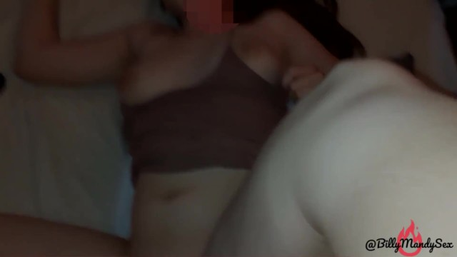 Horny girl plays with her pussy and gets fucked POV homemade real couple Creampie 16