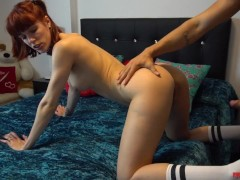 She asks her French teacher for help, and he helps her with great pleasure, - SQUIRT - MISS PASION