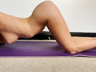 Nude Yoga - Slow and Sensual Stretching Session (trailer)