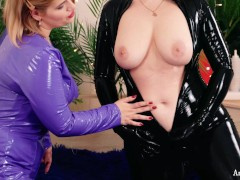 Belly Button Fetish Teaser Video Lesbian Relax at home with Arya Grander
