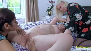 OLDNANNY Busty And Hot Mature Woman from Britain