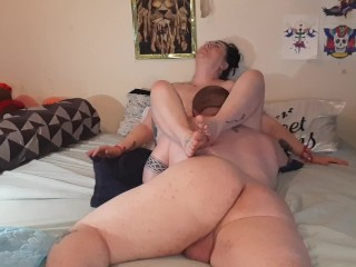 Held him to my clit with my thighs since he had my hands tied CUSTOM video request