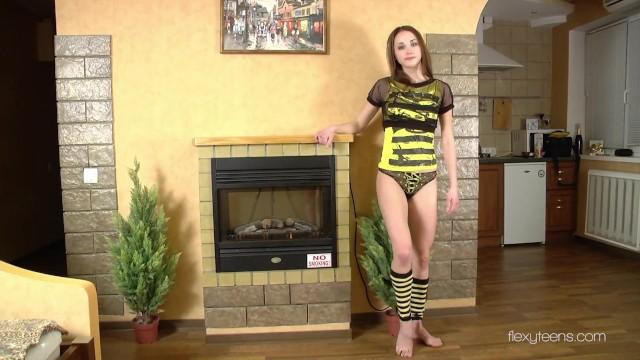 Tight pussy fit ass acrobatic teen Anna Nebaskowa 9
