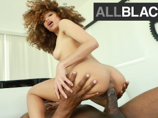 AllBlackX - Sexy Cecilia Lion Stretched By Monster Cock
