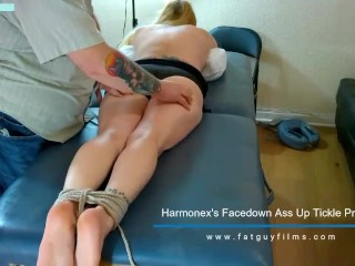 Harmonex's Facedown Ass Up Tickle Preview