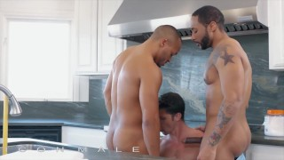 Icon Male - Devin Franco Calls Plumbers Jaxx Maxim & Dillon Diaz & Lets Them Fuck His Tight Ass