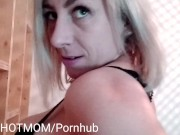 Comment baiser sa belle-mère: chantâge, orgasme, grosse bite, recette JULIEHOTMOM sex with beautiful