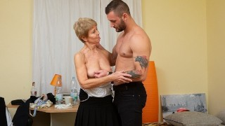 Mature Cleaning Woman