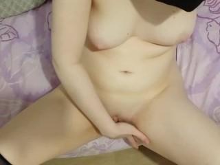 Anime girl masturbate...