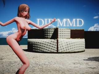 Misaka nice body beach lounge stage 02 1276...