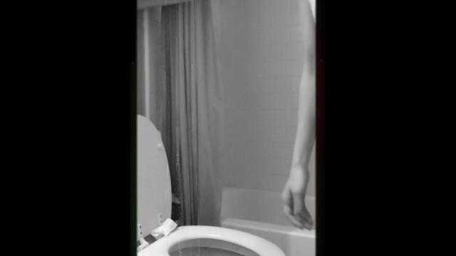 Peeing in formal white dress 35