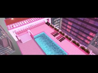 Spring break fun roof top imvu sex...