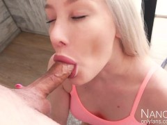 This blowjob won`t be filmed in Hollywood