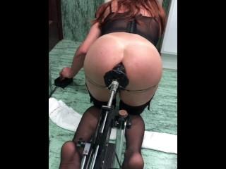 Sasha gaucha shemale slut big ass stretching 3...