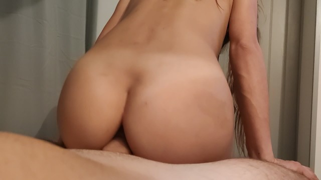 Girl sucks my cock and rides my big cock like a porn actress 4
