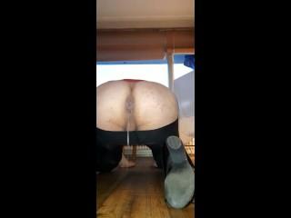Slut creampie cum licking from floor full colour...
