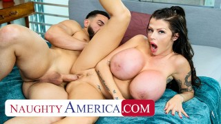 Naughty America - Joslyn James fucks her son's friend after getting horny off a libido enhancer