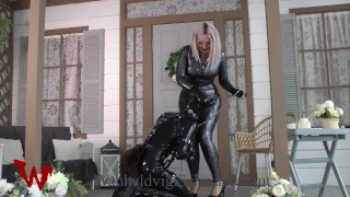 Latex Fetish Lesbian Slave