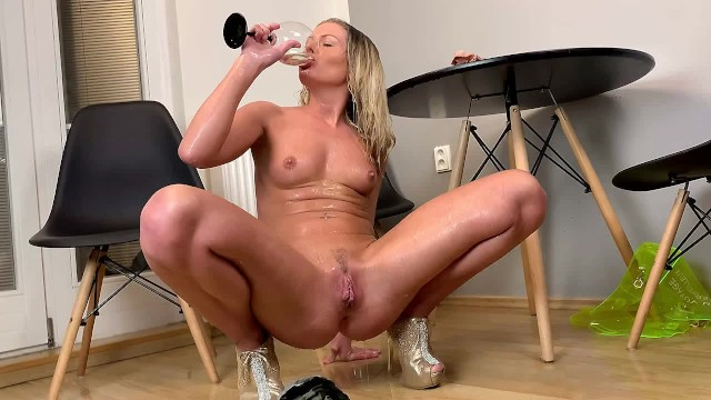 Blonde;Fetish;Masturbation;Toys;Squirt;Czech;Pissing;Solo Female masturbation, squirt, orgasm, dildo, czech, amateur, blonde, close-up, fetish, girl-pissing, pee-play, solo-girl, fingering, peeing, small-tits, piss-drinking