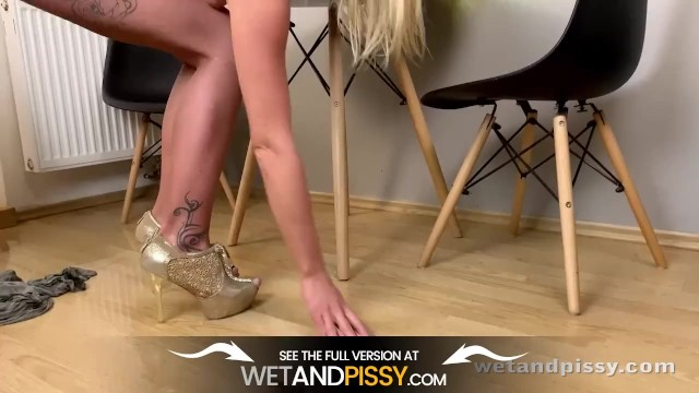 Claudia Macc Entertains Herself In Lockdown With Piss Play 14
