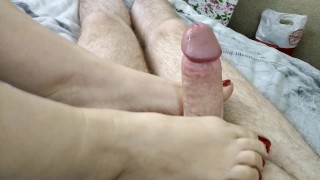 Mature beauty pounded hard with two dildos in her cunt and asshole! Mommy shaking in a wild orgasm!