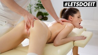 WhiteBoxxx - Rebecca Volpetti Oiled Up Romanian Babe Fucked Hard By Horny Masseur