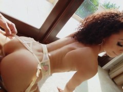 Rammed - Alexis Tae Got Her Tight Pussy And Ass Fucked Rough