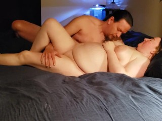 Amazing BBW cums hard when fucked in her ass!