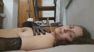 """""""hot italian milf fingering amateur touches her pussy like NO COUGAR EVER-"""