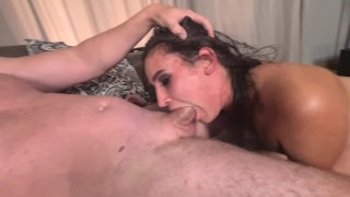 Hardcore | rough face fucking with face spitting | slapping and hair pulling